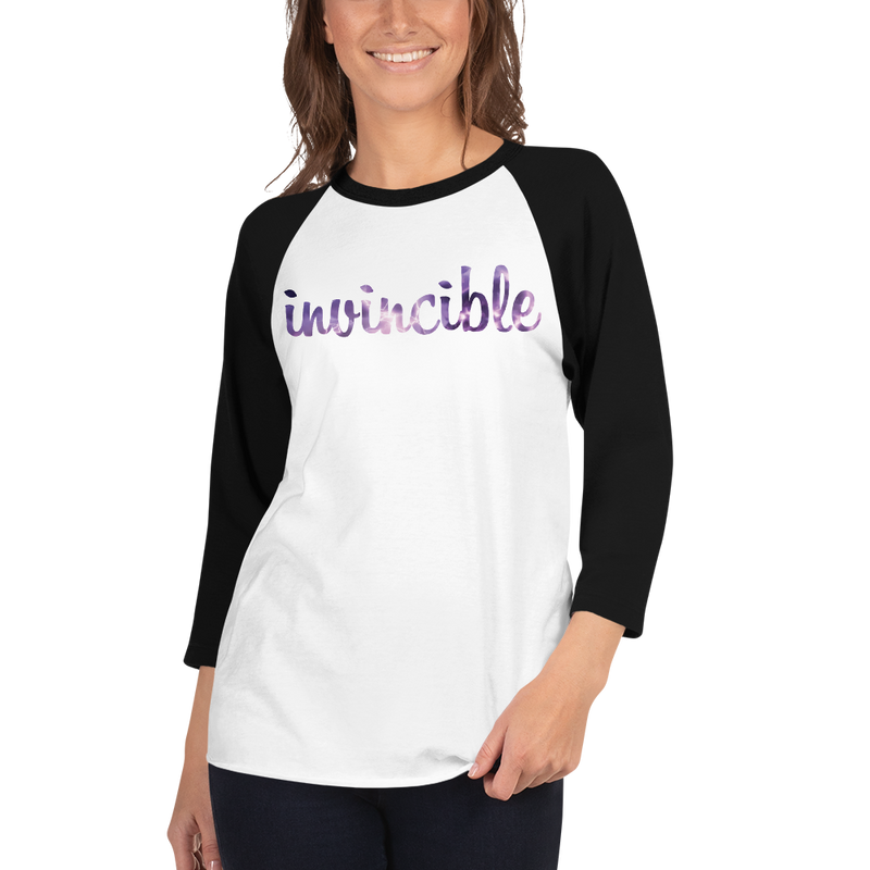 Invincible022 Tultex 245 Unisex Fine Jersey Raglan Tee w/ Tear Away Label