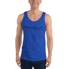 Wanderlust107 Bella + Canvas 3480 Unisex Jersey Tank with Tear Away Label