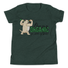 Go Organic004 Bella + Canvas 3001Y Youth Short Sleeve Tee with Tear Away Label