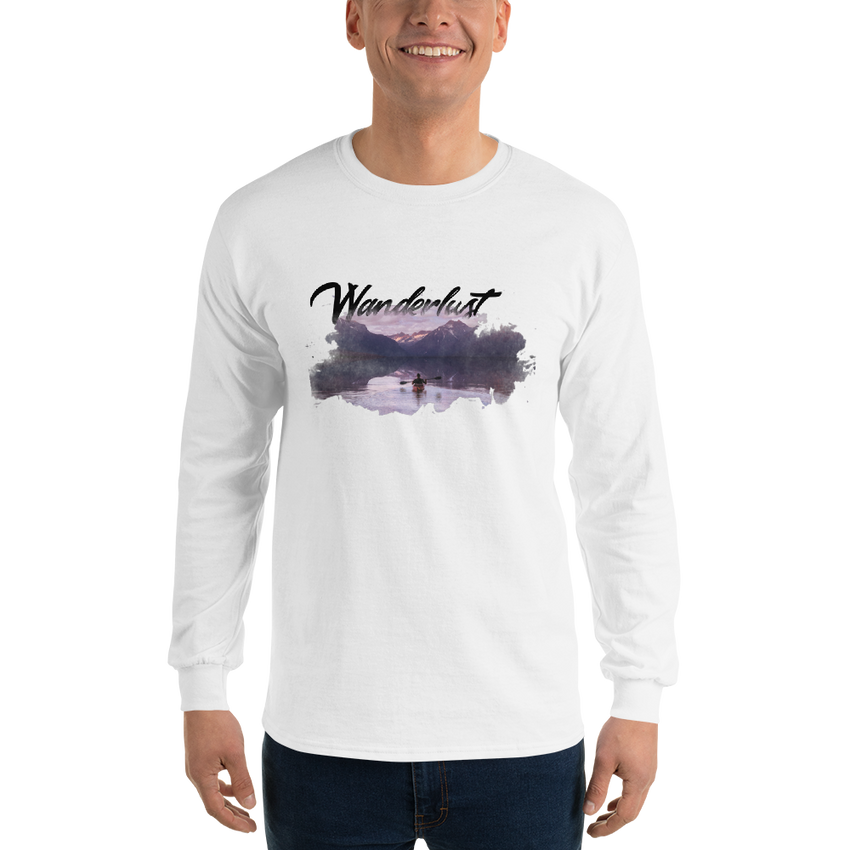 Wanderlust20 Gildan 2400 Ultra Cotton Long Sleeve T-Shirt
