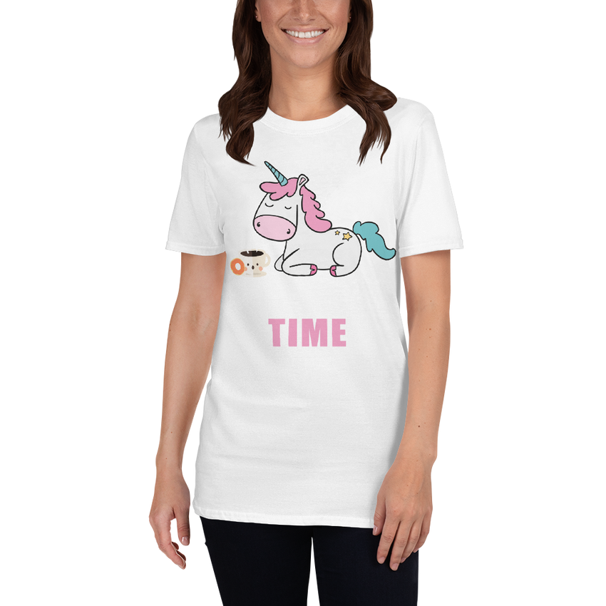 Its Coffee Time019 Short-Sleeve Unisex T-Shirt