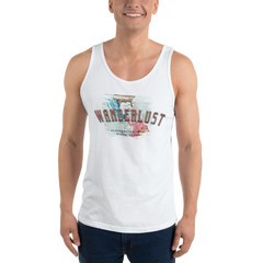 Wanderlust84 Bella + Canvas 3480 Unisex Jersey Tank with Tear Away Label