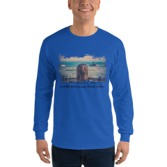 Wanderlust010 Gildan 2400 Ultra Cotton Long Sleeve T-Shirt