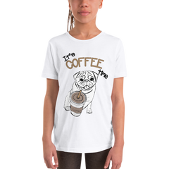 Its Coffee Time58 Youth Short Sleeve T-Shirt
