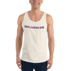 Influencer0078 Bella + Canvas 3480 Unisex Jersey Tank with Tear Away Label