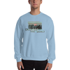 Explore The World0021 Gildan 18000 Unisex Heavy Blend Crewneck Sweatshirt