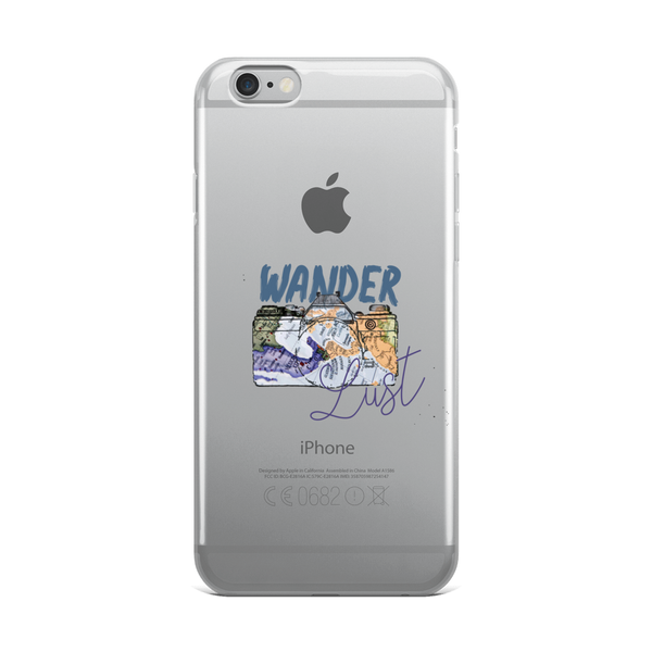 Wanderlust98 iPhone Case