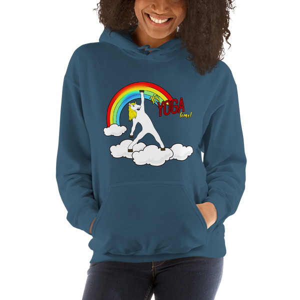 It's Yoga Time018 Gildan 18500 Unisex Heavy Blend Hooded Sweatshirt Heavy blend