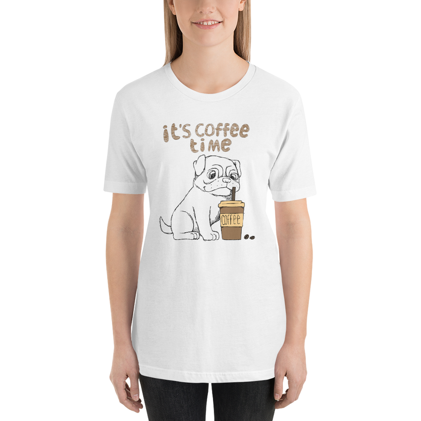 Its Coffee Time054 Short-Sleeve Unisex T-Shirt