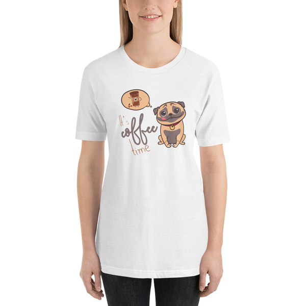 Its Coffee Time038 Short-Sleeve Unisex T-Shirt