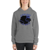 Explore The World0010 Bella + Canvas 3719 Unisex Fleece Pullover Hoodie