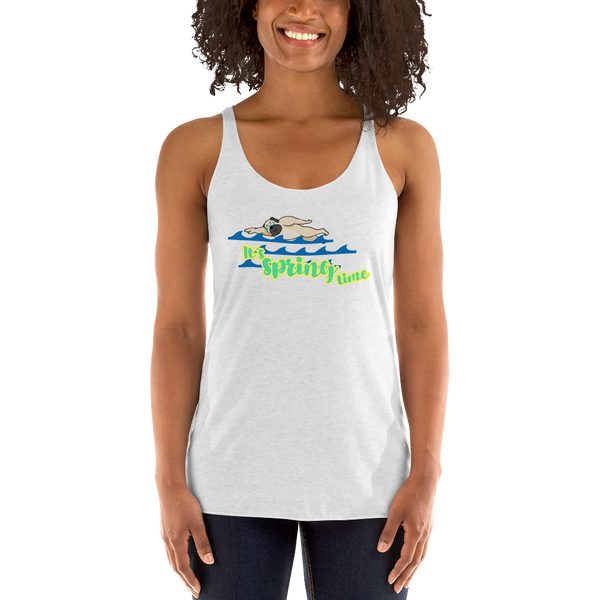 It's Swimming time! Women Tank Tops