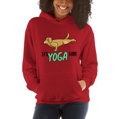 It's Yoga Time026 Gildan 18500 Unisex Heavy Blend Hooded Sweatshirt Heavy blend
