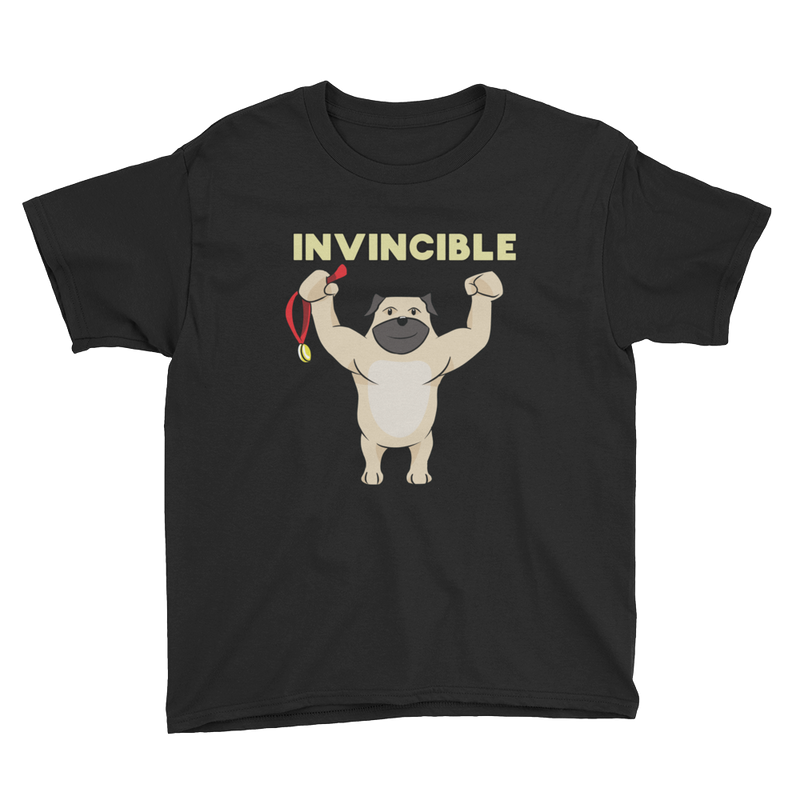 Invincible008 Anvil 990B Youth Lightweight Fashion T-Shirt with Tear Away Label