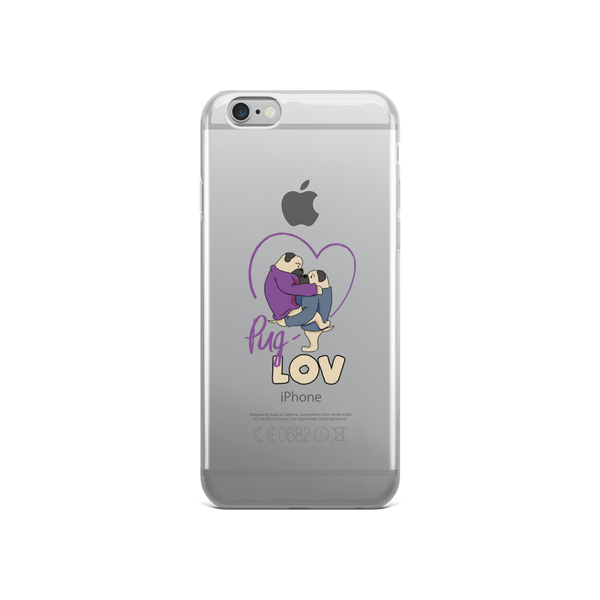 Pug Love11 iPhone Case
