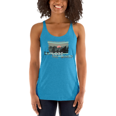 Explore The World0021 Next Level 6733 Ladies' Triblend Racerback Tank