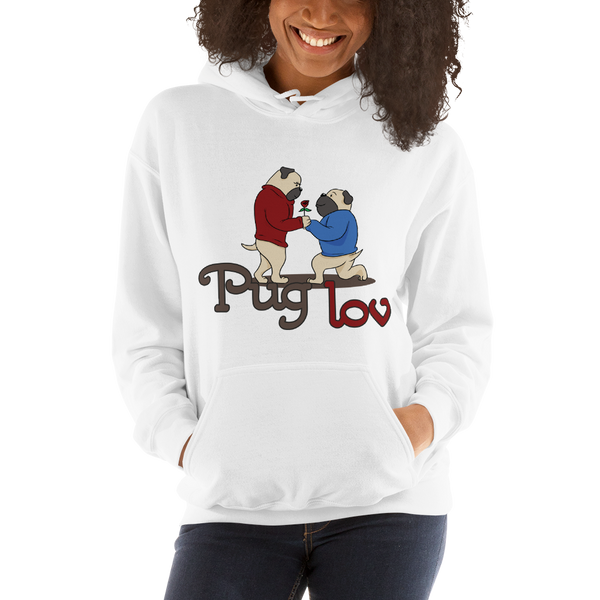 Pug luv Women Hoodies