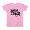 Explore Life002 American Apparel 2201W Youth Fine Jersey Short Sleeve T-Shirt