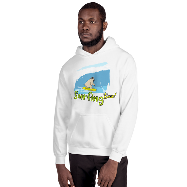 It's Surfing Time02 Gildan 18500 Unisex Heavy Blend Hooded Sweatshirt