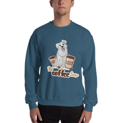 It's Coffee Time046 Gildan 18000 Unisex Heavy Blend Crewneck Sweatshirt