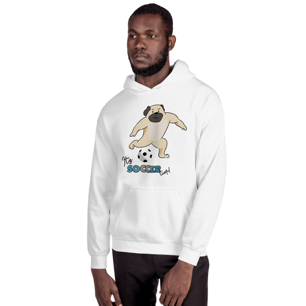 It's Soccer Time01 Gildan 18500 Unisex Heavy Blend Hooded Sweatshirt