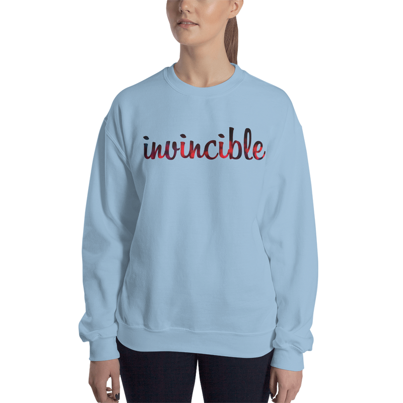 Invincible018 Gildan 18000 Unisex Heavy Blend Crewneck Sweatshirt