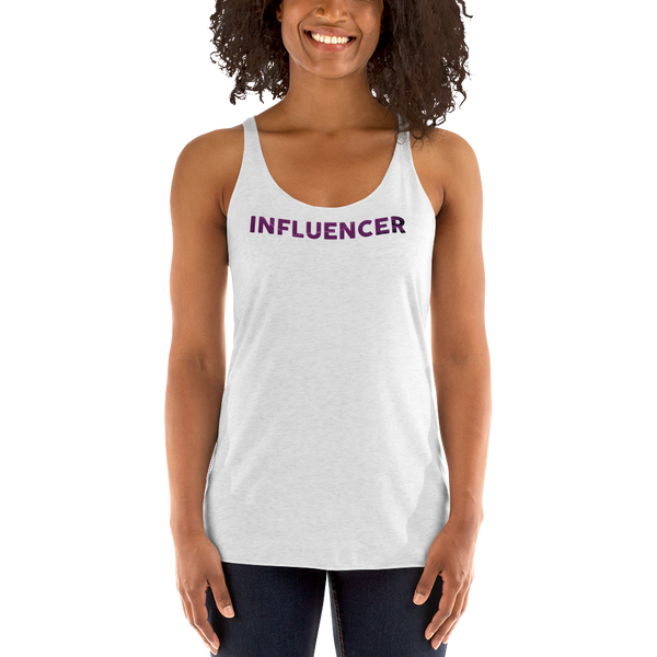 Influencer079 Next Level 6733 Ladies' Triblend Racerback Tank Triblend Racerback Tank