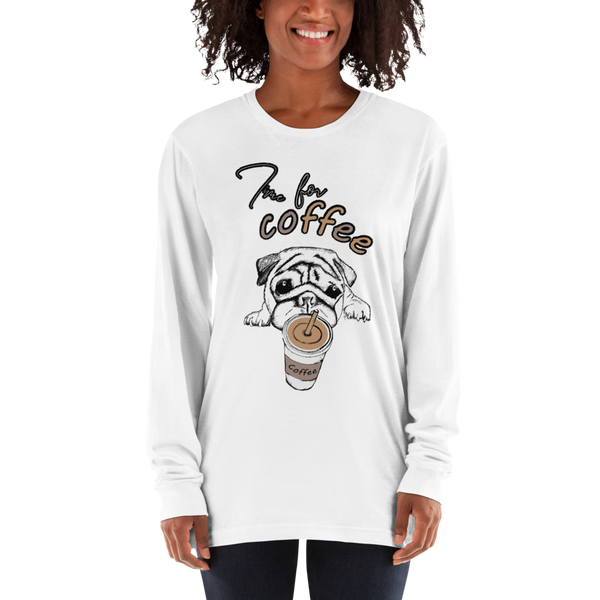 Its Coffee Time057 Long sleeve t-shirt