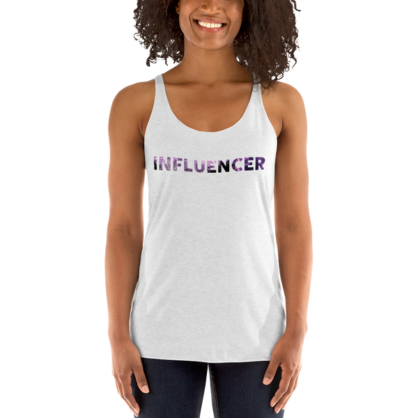 Influencer057 Next Level 6733 Ladies' Triblend Racerback Tank Triblend Racerback Tank