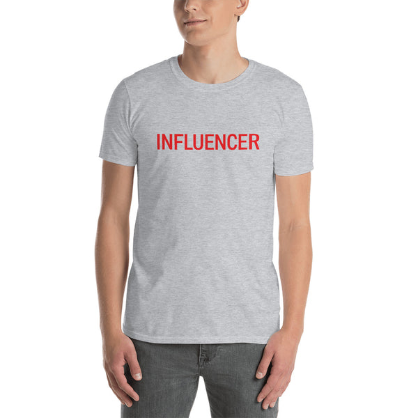 Influencer0173 Gildan 64000 Unisex Softstyle T-Shirt with Tear Away Label