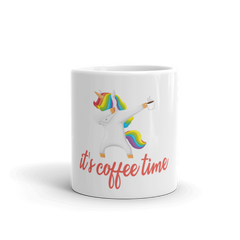 Its Coffee Time30 White Glossy Mug