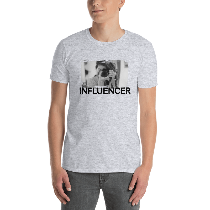 Influencer0060 Gildan 64000 Unisex Softstyle T-Shirt with Tear Away Label