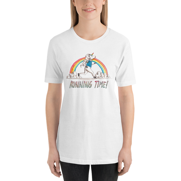 It's Running time! Women T-Shirts