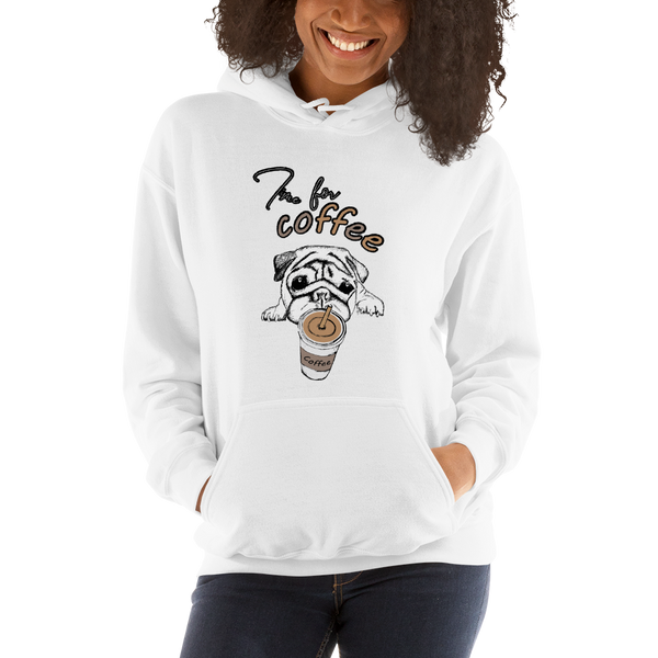 Its Coffee Time057 Hooded Sweatshirt