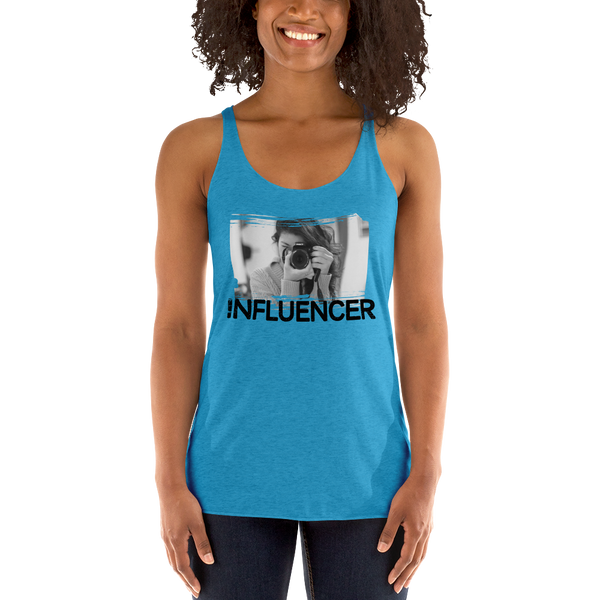 Influencer060 Next Level 6733 Ladies' Triblend Racerback Tank Triblend Racerback Tank