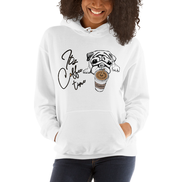 Its Coffee Time056 Hooded Sweatshirt