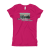 Explore The World0022 Next Level 3710 Girl's The Princess Tee with Tear Away Label