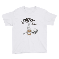 Its Coffee Time66 Youth Short Sleeve T-Shirt