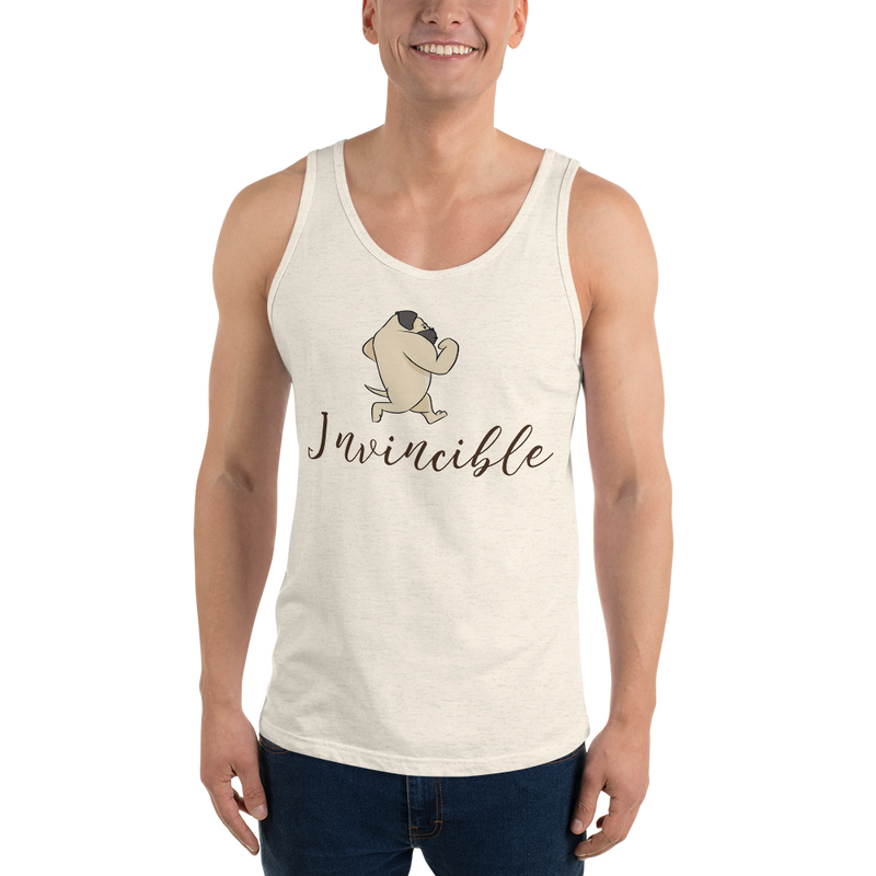 Invincible010 Bella + Canvas 3480 Unisex Jersey Tank with Tear Away Label