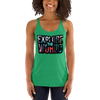 Explore The World0022 Next Level 6733 Ladies' Triblend Racerback Tank