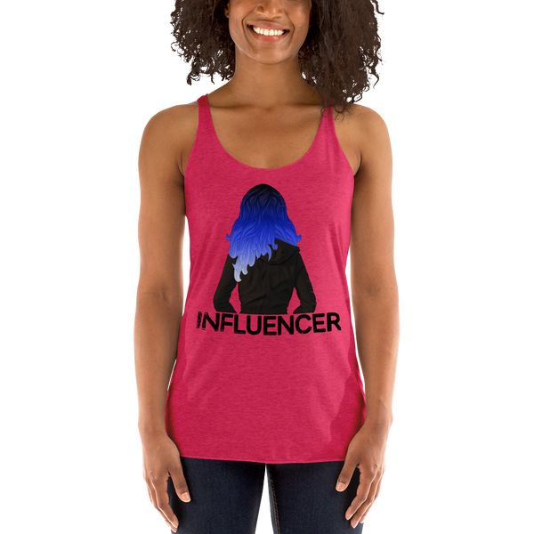 Influencer066 Next Level 6733 Ladies' Triblend Racerback Tank Triblend Racerback Tank