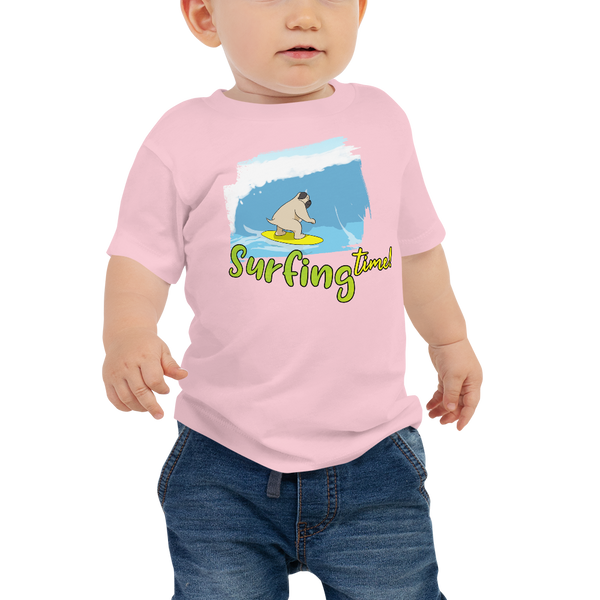 It's surfing time! 02 Baby Jersey Short Sleeve Tee
