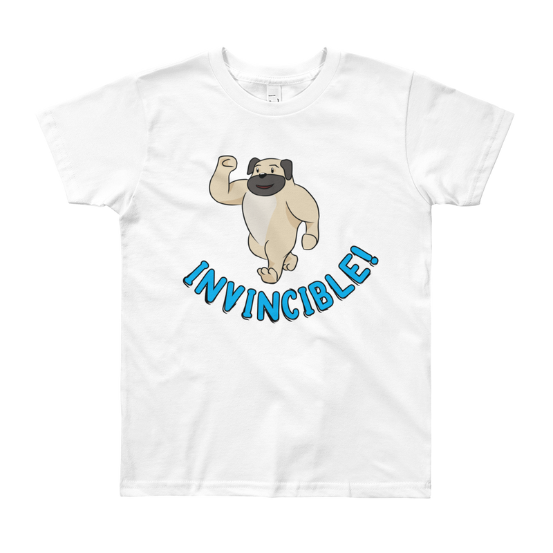 Invincible014 American Apparel 2201W Youth Fine Jersey Short Sleeve T-Shirt