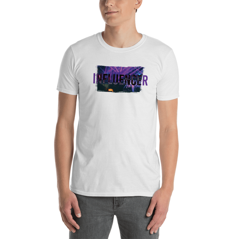 Influencer0080 Gildan 64000 Unisex Softstyle T-Shirt with Tear Away Label