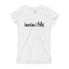 Invincible021 Next Level 3710 Girl's The Princess Tee with Tear Away Label