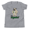 Go Organic002 Bella + Canvas 3001Y Youth Short Sleeve Tee with Tear Away Label
