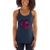 Explore The World0027 Next Level 6733 Ladies' Triblend Racerback Tank