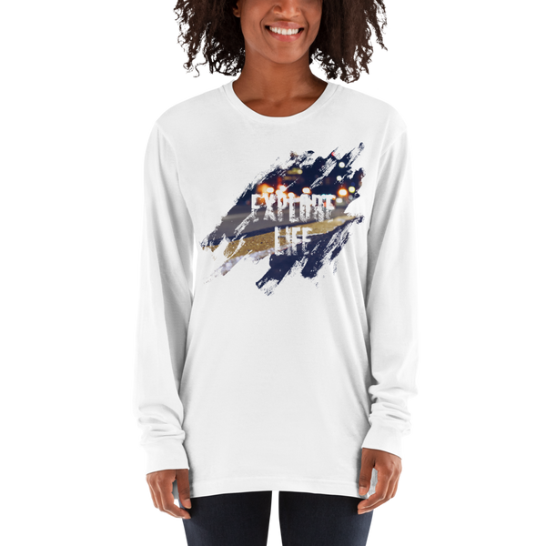 Explore life Women Long Sleeve T Shirts