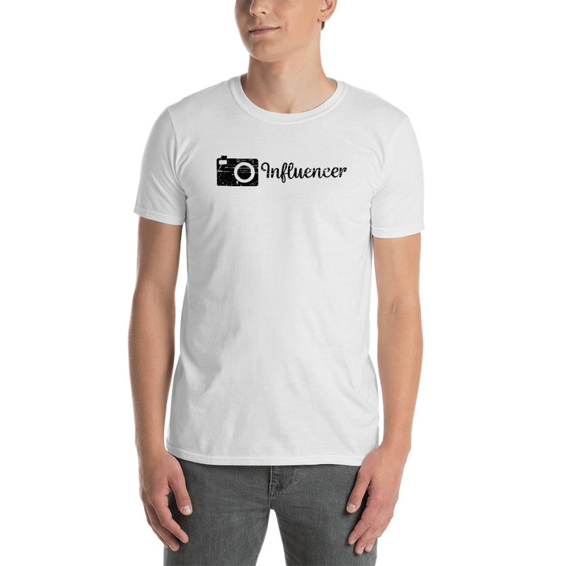 Influencer0053 Gildan 64000 Unisex Softstyle T-Shirt with Tear Away Label