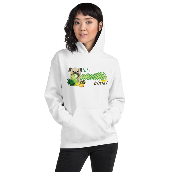 It's smoothie time10 Gildan 18500 Unisex Heavy Blend Hooded Sweatshirt Heavy blend